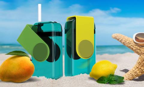 Мини-бокс для сока Asobu Juicy box (0,29 литра), зеленый