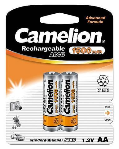 Аккумуляторы CAMELION R 6/2bl 1500 mAh Ni-MH