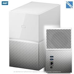 Сетевой накопитель Western Digital WD My Cloud Home Duo 12TB 2-Bay Personal Cloud NAS Server (2 x 6TB)