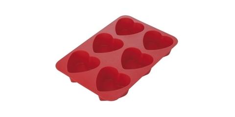 Форма Tescoma DELICIA 6 сердец, для мини-кексов