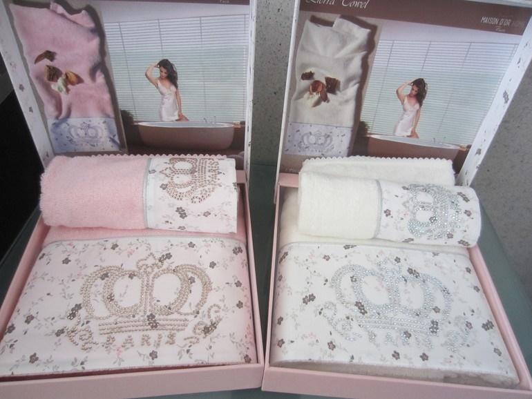 Полотенца LIERRA - ЛИЕРРА полотенце махровое в коробке 50х100 Maison Dor Турция лиерра.jpg