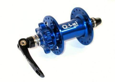Втулка передняя Q-LAI под диск 36, синея