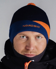 Лыжная шапка Nordski Line Orange