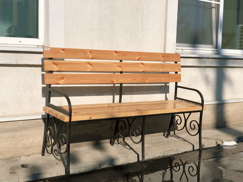 Садовая скамейка №1