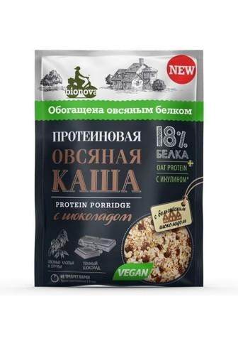 Каша протеин б/п овсяная с шоколадом б/сахара 40г Bionova