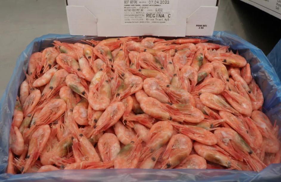 Креветки северные глубоководные без глазури 90+ (кг)