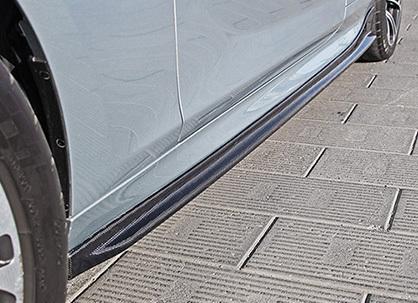 Карбоновые пороги Hamman Style для BMW 6er