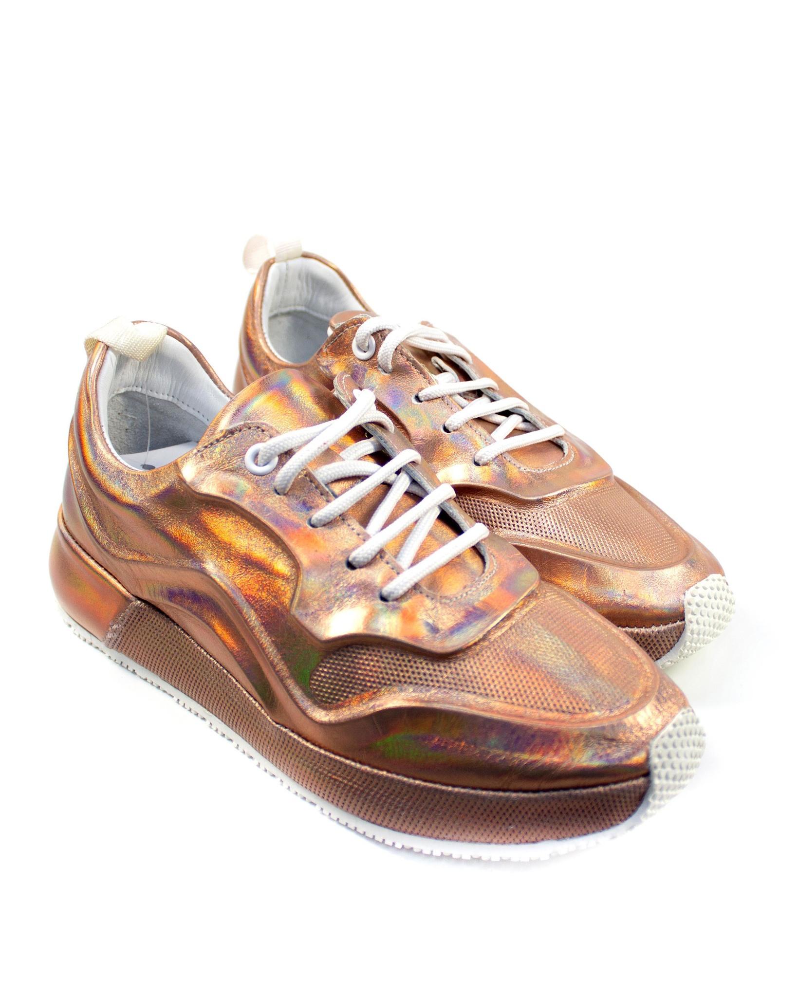 бронзовые кроссовки SM