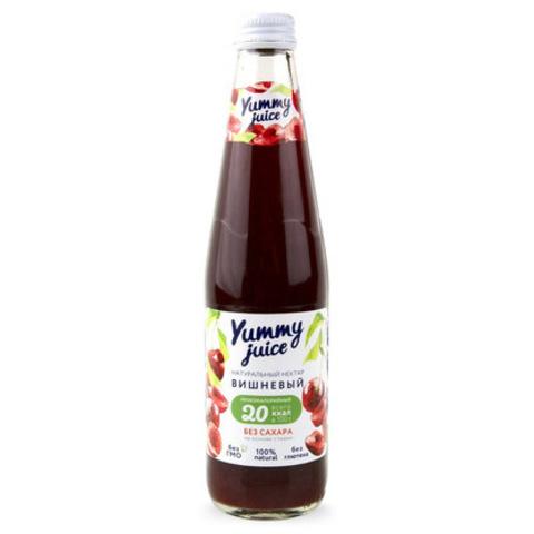 Нектар вишневый без сахара Yummy, 330мл