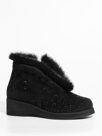 Замшевые ботинки Marzetti 84001 с мехом