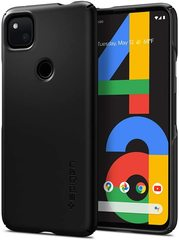 Чехол Spigen Thin Fit для Google Pixel 4a Case (2020) - Black