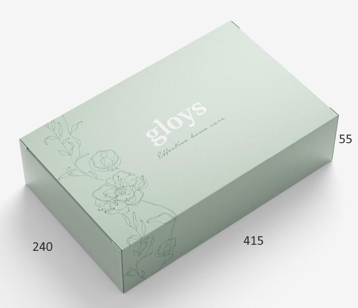Коробка подарочная Gloys — 415x240x55 мм