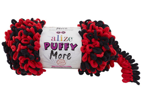 Пряжа Alize Puffy More цвет 6273