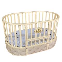 Детская кроватка Sofia Elegance 6 в 1 цвет слоновая кость