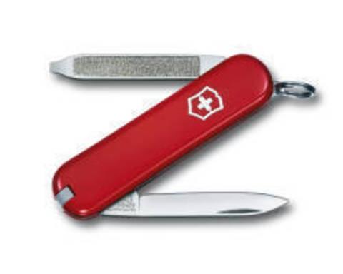 Нож-брелок Victorinox Classic Escort, 58 мм, 6 функций, красный