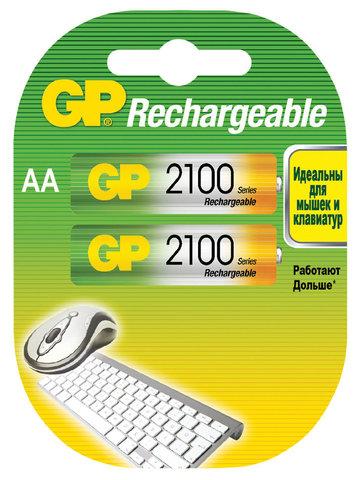 Аккумуляторы GP R-06/2bl 2100mAh Ni-MH