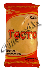 Тесто слоеное дрожжевое 0,8
