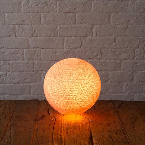 Хлопковый светильник нежно-розовый