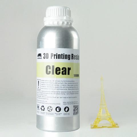 Фотополимер Wanhao Standard Resin, натуральный (1 л)