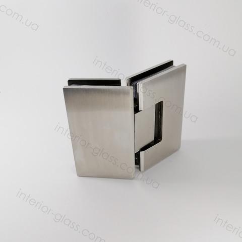 Петля для душевой 135 град. HDL-302 BF SSS нержавеющая сталь