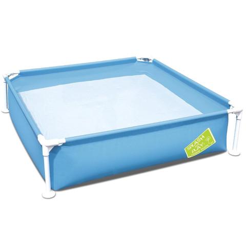 Детский каркасный бассейн Bestway 56217 (122х122х30.5 см) Blue / 17435