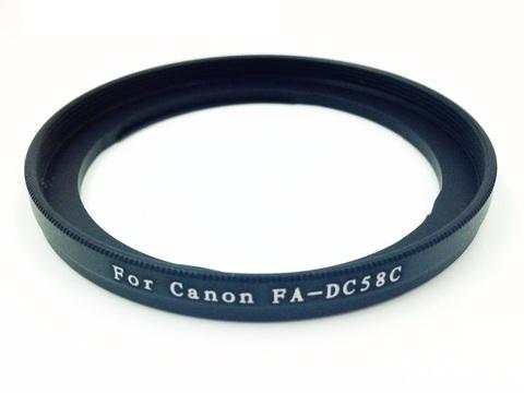 Адаптер для светофильтра 58 мм на Canon PowerShot G1 X