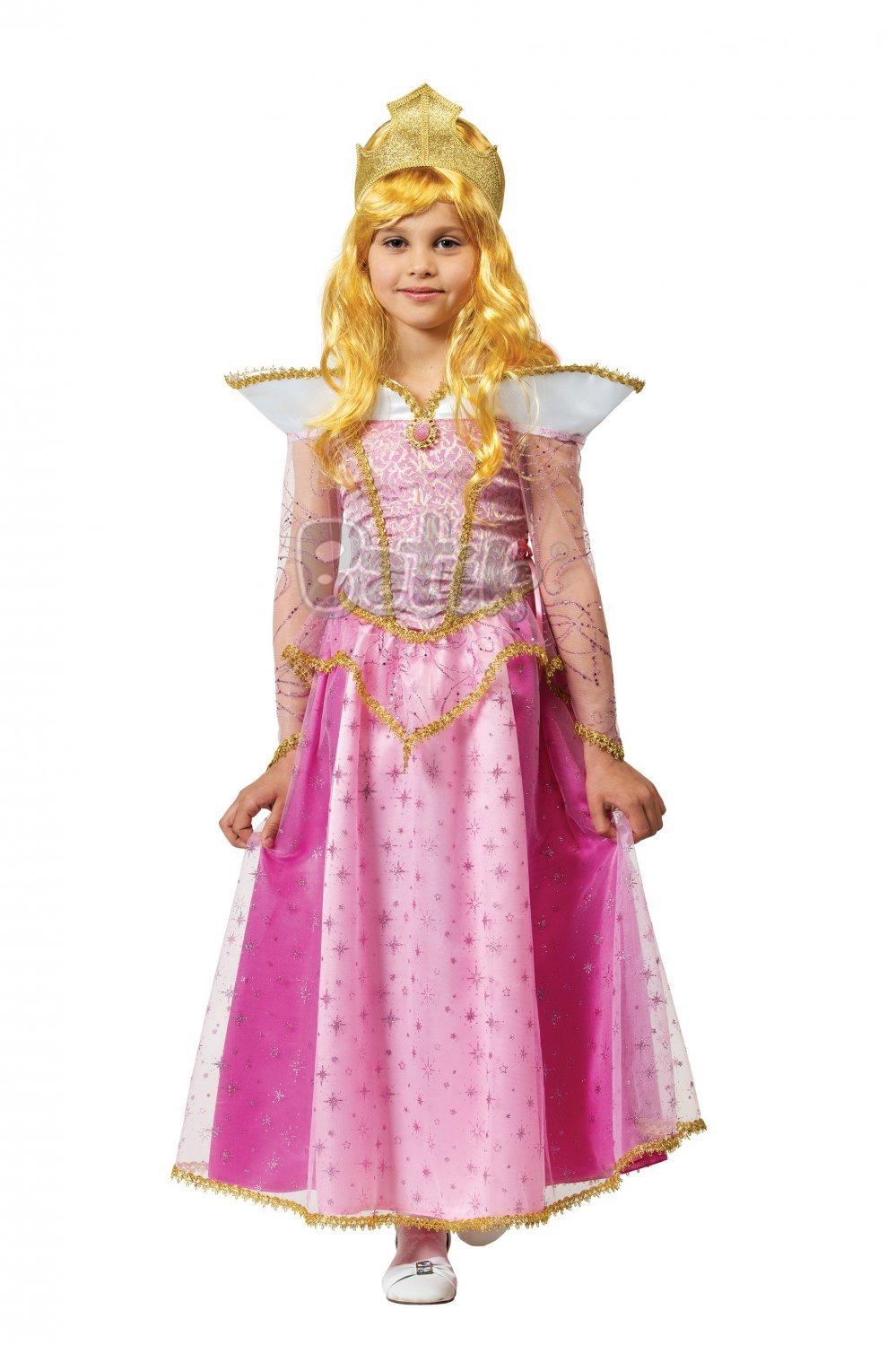 Карнавальный костюм принцесса Аврора (текстиль)