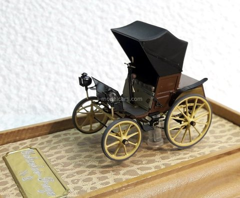 Car Frese and Yakovlev 1896 year Handmade workshop 1:43