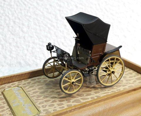 Car Frese and Yakovlev 1896 year Handmade workshop 1:43