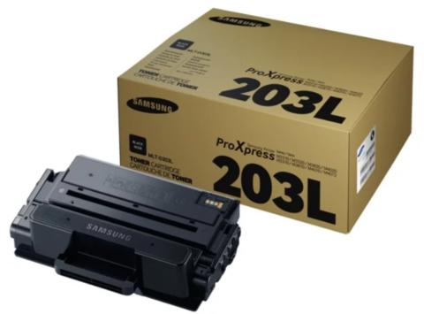 Оригинальный картридж Samsung MLT-D203L (SU899A) черный