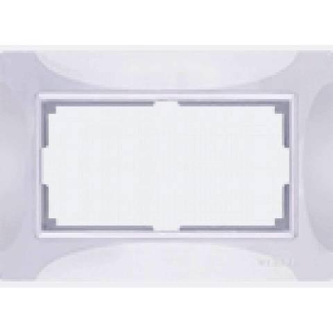 Werkel Рамка WL03-Frame-01-DBL белый basic