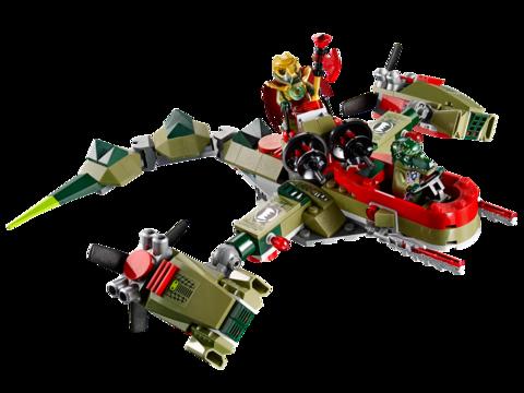 LEGO Chima: Флагманский корабль Краггера 70006 — Cragger's Command Ship — Лего Чима