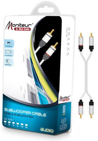 Real Cable 2RCA-1, 5m, кабель межблочный