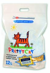 PRETTY CAT WOOD GRANULES FOR KITTENS