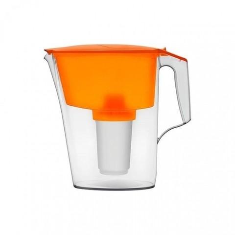 Фильтр-кувшин Аквафор 2,5л Ультра,оранжевый/коралл,пластик