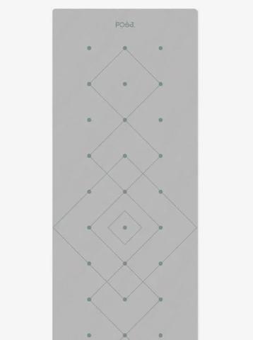 Коврик для йоги с разметкой Align Grey Forest 183*61*0,6 см