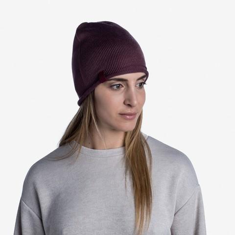 Вязаная шапка Buff Hat Knitted Lekey Rose фото 2