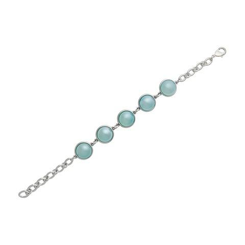Классический браслет Pearl Blue Sky Agate C1362.21 BL/S