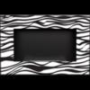 Биокамин Kratki Delta Zebra встраиваемый в стену