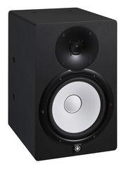 YAMAHA HS8I активный студийный монитор чёрного цвета. Дизайн легендарных Yamaha NS10