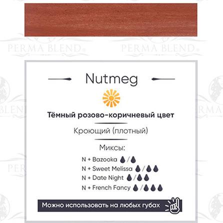 Nutmeg пигмент для губ от Permablend