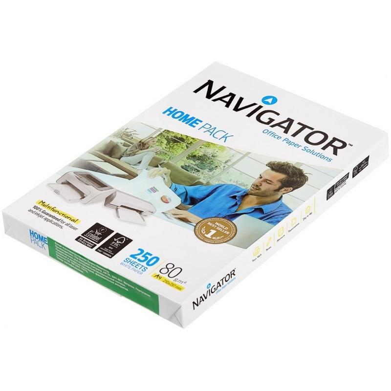 Бумага для офисной техники Navigator Home Pack (А4, марка A, 80 г/кв.м, 250 листов)