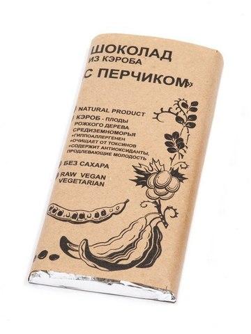 Шоколад из кэроба с Перчиком 100г БК Урожай