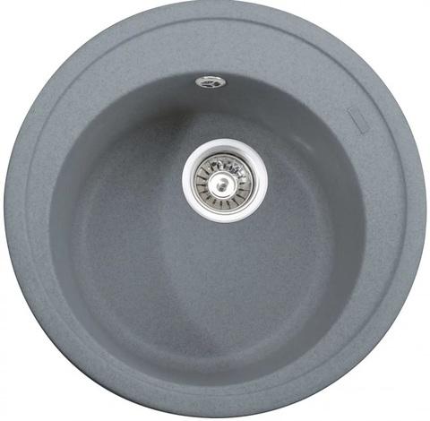 Кухонная гранитная мойка Kaiser KGM-490-G серый