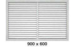 Решетка радиаторная 900*600мм Эра П9060Р