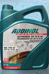 ADDINOL Getriebeol GH 75w90 4л