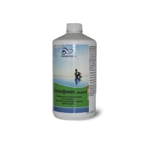 Флокфикс жидкий флокулянт 1л. Chemoform