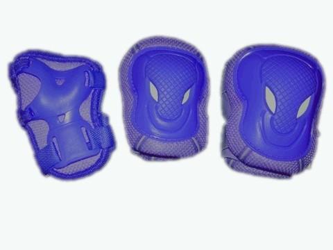 Защита роликовая. В наборе: 2 защиты колена, 2 защиты локтя, 2 защиты кисти.  Размер L. :(WXR-L):
