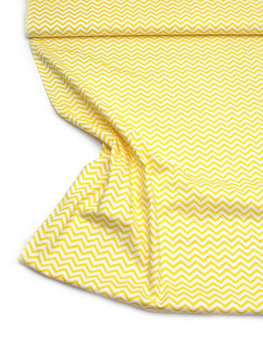 Зигзаг мелкий желтый