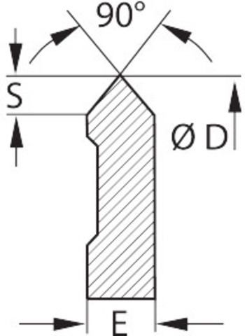 Фрезерная СМП 90° HB7720